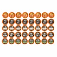 Realtree Variety Pack Coffee Pods Sampler for Keurig K-Cup Brewers, 40 Count