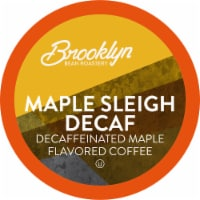 Brooklyn Beans Maple Sleigh Decaf Coffee Pods, Compatible with 2.0 K-Cup Brewers, 40 Count