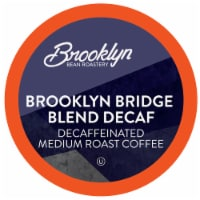 Brooklyn Beans Brooklyn Bridge Decaf Coffee Pods, Compatible with 2.0 K-Cup Brewers, 40 Count