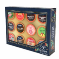 Two Rivers Coffee Holiday Coffee Sampler Box, 6 boxes of 12, 72 total k cups