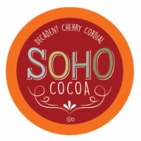 Soho Cherry Cordial Hot Chocolate Pods for Keurig K-Cup Brewers, 40 Count