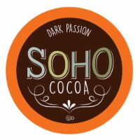 Soho Dark Passion Hot Chocolate Pods for Keurig K-Cup Brewers, 40 Count