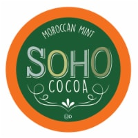 Soho Morocan Mint Hot Chocolate Pods for Keurig K-Cup Brewers, 40 Count