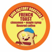 Java Factory French Toast Flavored Coffee for Keurig K Cup Brewers, 40 Count - 40 Kcups