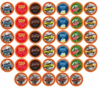 Two Rivers Coffee Bold & Dark Roast Coffee Pods, Variety Sampler Pack, 40 Count