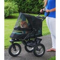 Pet Gear PG8450NVS Nv No-Zip Pet Stroller, Skyline - 1