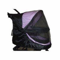 Pet Gear PG8100NZWC Weather Cover For No-Zip Happy Trails Pet Stroller, Black - 1