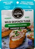 Raincoast Global Sandwich Ready Mayonnaise & Chives Wild Skipjack Tuna