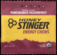 Honey Stinger Organic Pomegranate Passion Chews - 1.8 Oz