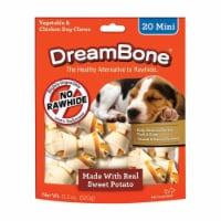 Dreambone 8013265 Chicken & Sweet Potato Dog Chews, Pack of 24 - Case of 14 - 1
