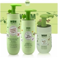 WBM Care Gift Set, Baby Oil, Lotion & 3 In 1 Baby Shampoo - Skincare & Bath Products, 3 Items - 3 Count