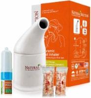 Natural Solution Nasal Inhaler and Ceramic Salt Inhaler, Organic Personal Care, Gift Set - 2 Count
