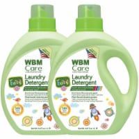 W Home Baby Laundry Detergent, Hypoallergenic, Removes Tough Stains | 2 Packs | 34 Oz Each - 2 Count