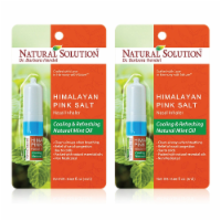 Natural Solution Nasal Inhaler, Natural Remedy for Sinus Relief, Aromatherapy | Pack of 2