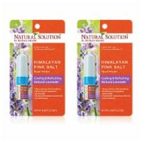 Natural Solution Nasal Inhaler, Cruelty-Free, Calming & Refreshing, Natural Lavender