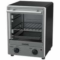 Courant 4 Slice Toaster Oven Space Saving Design Toastower