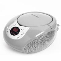 Riptunes Cd Boombox W/ Am/fm Radio Silvr - 1