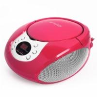 Riptunes Cd Boombox W/ Am/fm Radio, Pink - 1
