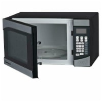 0.9 CU FT MICROWAVE OVEN, STAINLESS