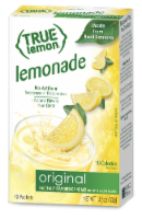 True Lemon Original Lemonade Drink Mix Packets