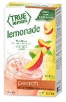 True Lemon Peach Lemonade Drink Mix Packets