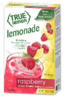 True Lemon Raspberry Lemonade Drink Mix Packets