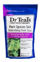 Dr Teal's Peppermint Epsom Salt Refreshing Foot Soak