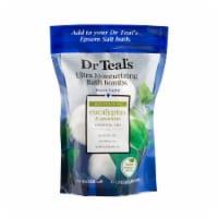 Dr Teal's Eucalyptus and Spearmint Ultra Moisturizing Bath Bombs 4 Count