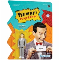 Pee Wee's Playhouse Pee-Wee ReAction Collectible Action Figure Super7 - 1 unit