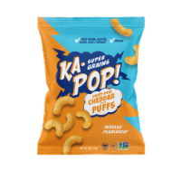 Ka-Pop! Ancient Grain Puffs Vegan Cheddar