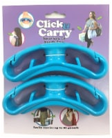 Blue 2-Pack Click & Carry - 2-Pack