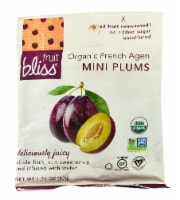 Fruit Bliss  Organic French Agen Mini Plums