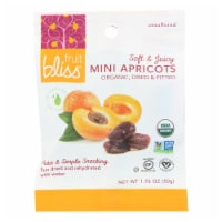 Fruit Bliss - Organic Turkish Mini Apricots - Mini Apricots - Case of 12 - 1.76 oz.