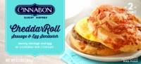 Cinnabon Cheddar Roll Sausage & Egg Sandwiches - 2 ct / 8.5 oz