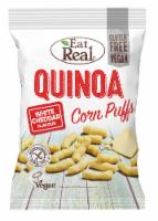 Eat Real White Cheddar Quinoa Corn Puffs