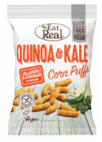 Eat Real Jalapeno & Cheddar Flavor Quinoa & Kale Puffs