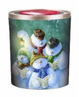 Hickory Farms Singing Snowmen Popcorn Tin