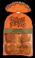 St Pierre Brioche Slider Rolls