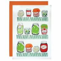 muKitchen 24in x 36in Flour Sack towels set of 2 Canning print - 2 each