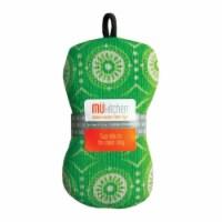 Mu Kitchen 6608-1444 Scrub Sponge  Green - pack of 4 - 4
