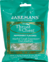 Jakemans Peppermint Throat and Chest Lozenges