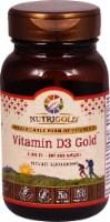 NutriGold Vitamin D3 Gold Softgels 2000iu - 180 ct