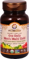 NutriGold Organic One Daily Men's Multi Gold Capsules