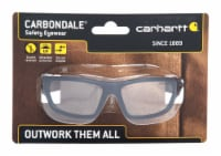 Carhartt  Carbondale  Anti-Fog Safety Glasses  Clear Lens Black Frame 1 pc. - Case Of: 1; - Count of: 1