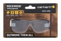 Carhartt  Rockwood  Anti-Fog Safety Glasses  Gray Lens Black Frame 1 pc. - Case Of: 1; Each - Count of: 1