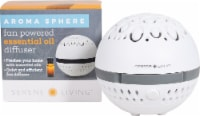 GreenAir  Aroma Sphere Fan Powered Essential Oil Diffuser White