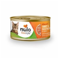 Nulo 811939020904 3Oz Nulo Freestyle Minced Turkey & Duck Recipe Canned Cat Food - 1
