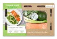 Home Chef Meal Kit Salmon With Miso Butter And Green Beans Amandine
