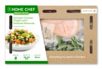 Home Chef Meal Kit Teriyaki Chicken Thighs With Smoked Almonds And Green Beans
