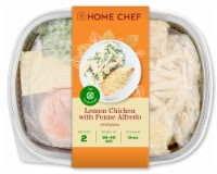 Home Chef Oven Kit Lemon Chicken With Penne Alfredo And Peas - 30 oz